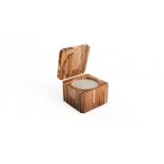 Saleiro madeira teca ''G''