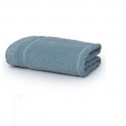 Toalha Fio Penteado Azul Claro-70 x 1,35cm