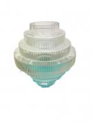 Vaso de vidro 30 cm