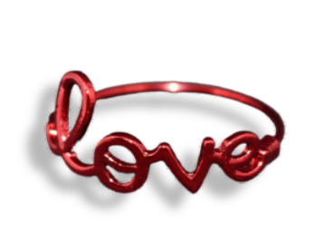 Conjunto Argola Love -14 cm