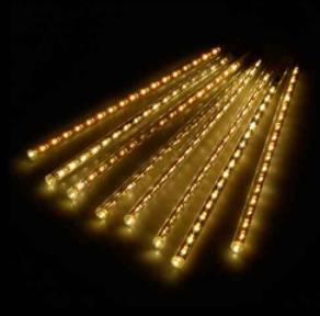 TUBO SNOW LED COM 8 TUBOS DE 30CM AMARELO/BRANCO/COLORIDO /AZUL