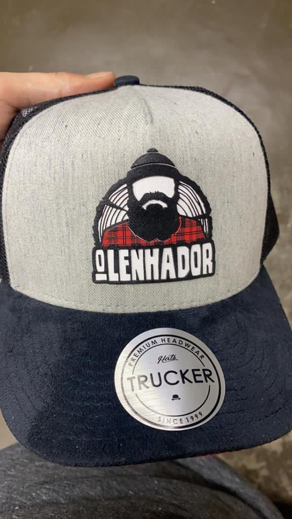 Boné Trucker Cutter Olenhador