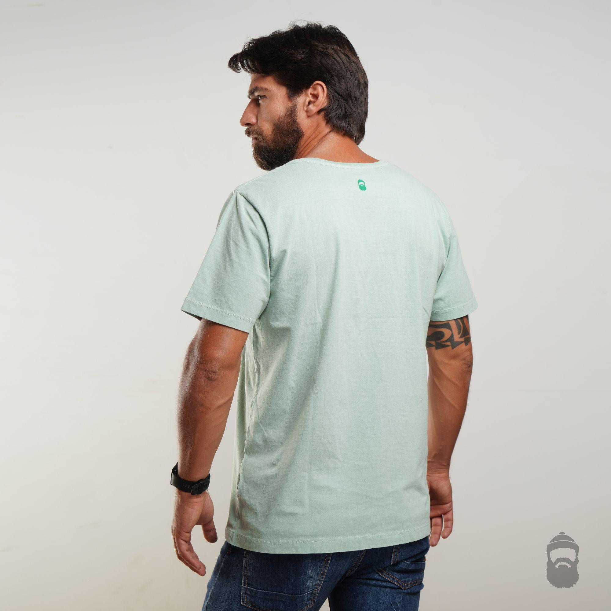 Camiseta Jungle Estonada Verde
