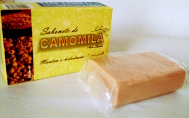 Kit 05 Sabonetes de Camomila