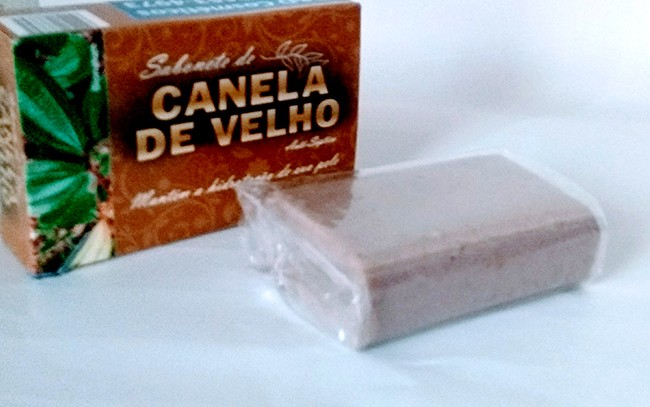 Kit 05 Sabonetes de Canela-de-Velho