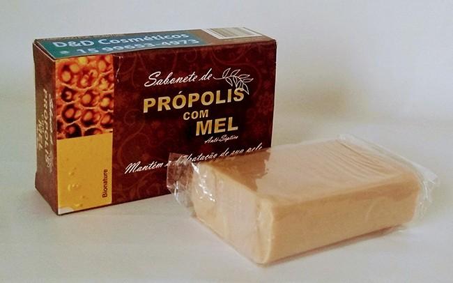 Sabonete Própolis com Mel