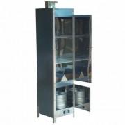Defumador de Alimentos Inox 270 Litros Grande Com Balde Para Serragem Fumaça
