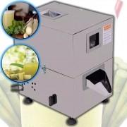 Garapeira Inox Elétrica Engenho Moedor Caldo de Cana Com 3 Moendas Inox