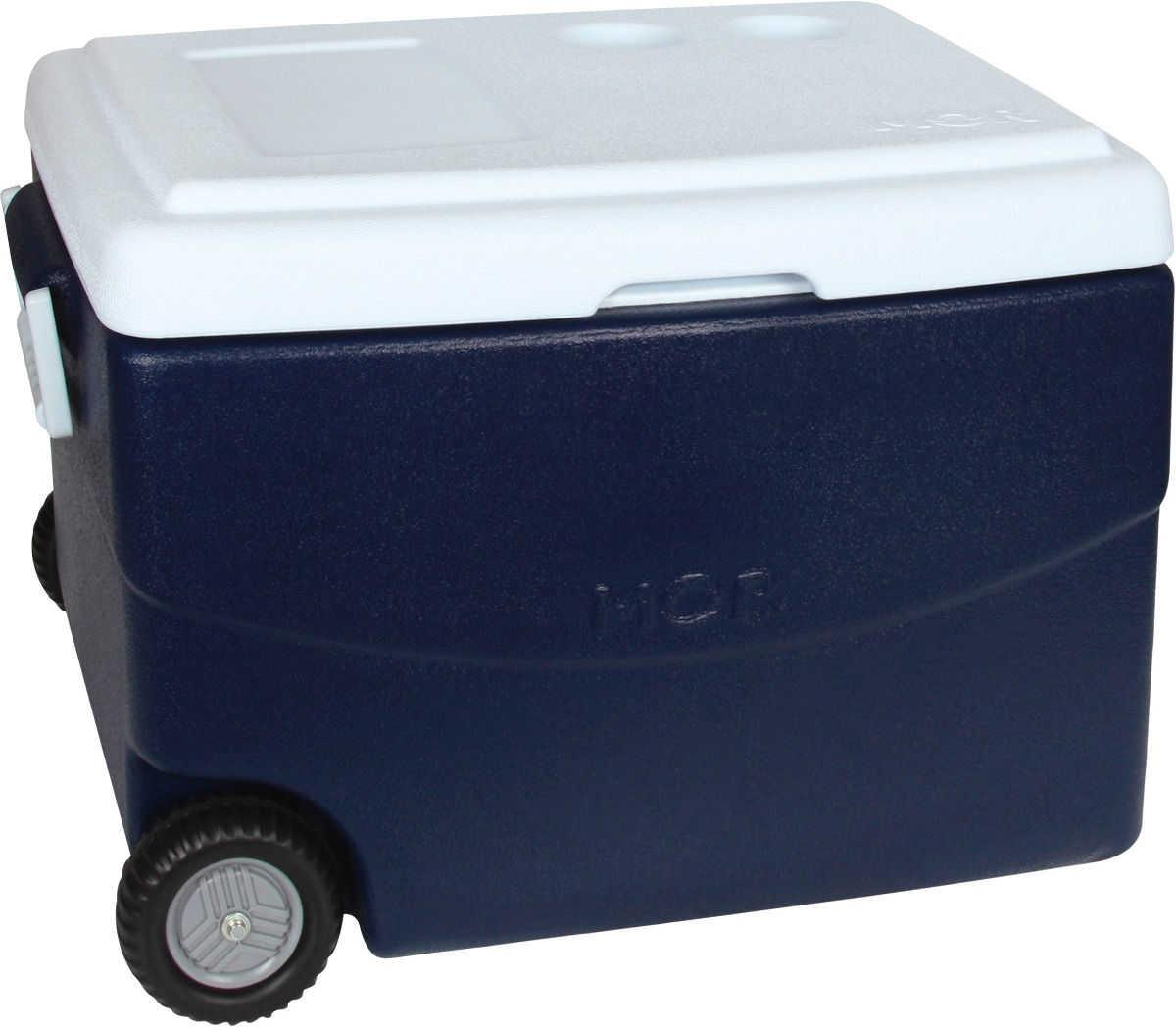 Caixa Termica 70 Litros Glacial Azul Mor Cooler Com Rodinhas