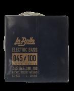 Encordoamento para Baixo La Bella Stainless Steel 45/105 RX-N4b