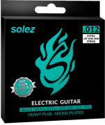 Encordoamento para Guitarra Solez 12/52 SLG12