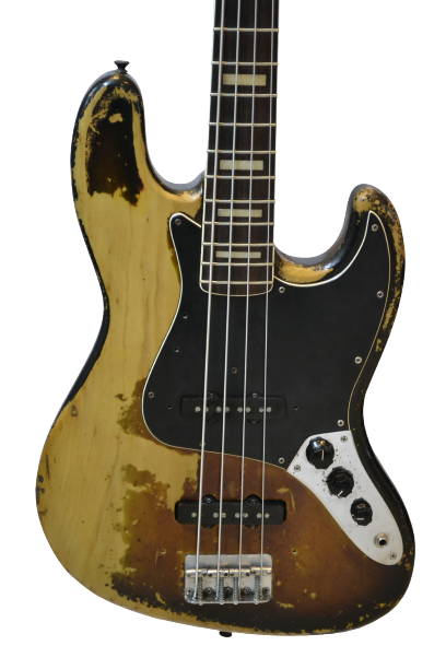 Baixo Fender Jazz Bass 1976 Sunburst