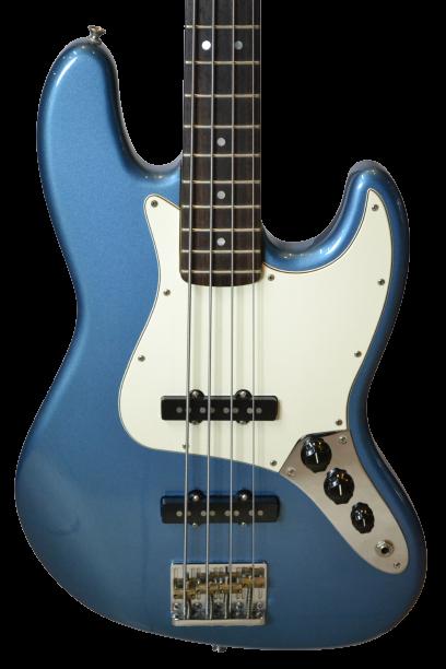 baixo fender jazz bass american standard - captador lindy fralin