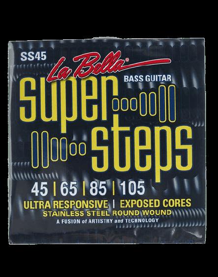 Encordoamento para Baixo La Bella Super Steps 45/105 SS45