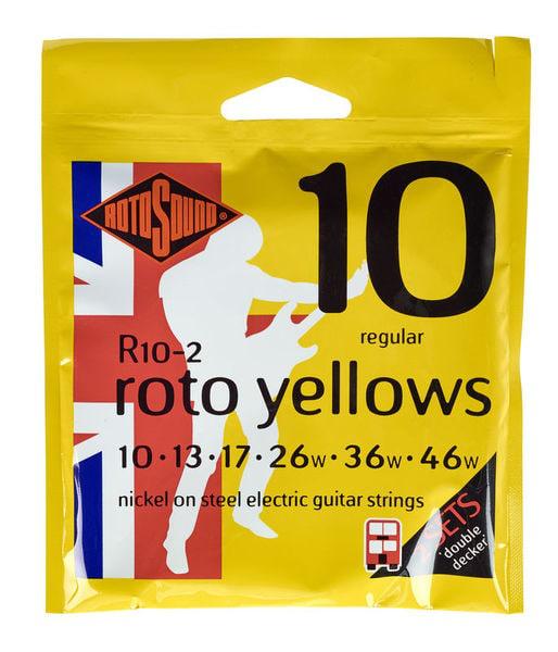 Encordoamento para guitarra 0.10 RotoSound R10