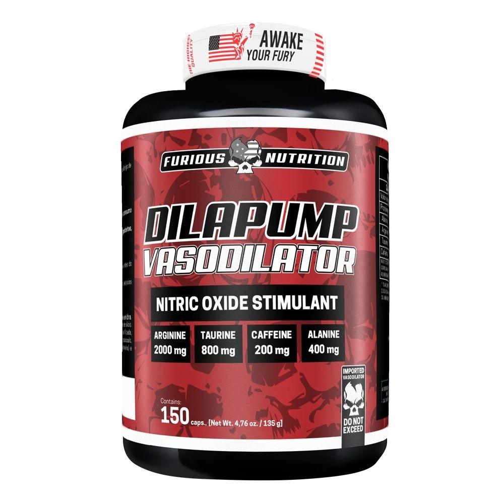 Dilapump Vasodilator Furious Nutrition 150 cápsulas