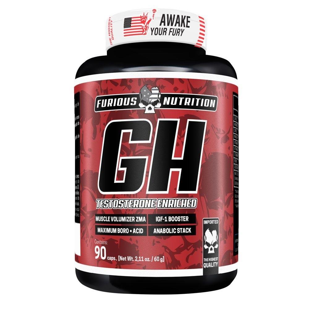 GH Testosterone Furious Nutrition 90 cápsulas