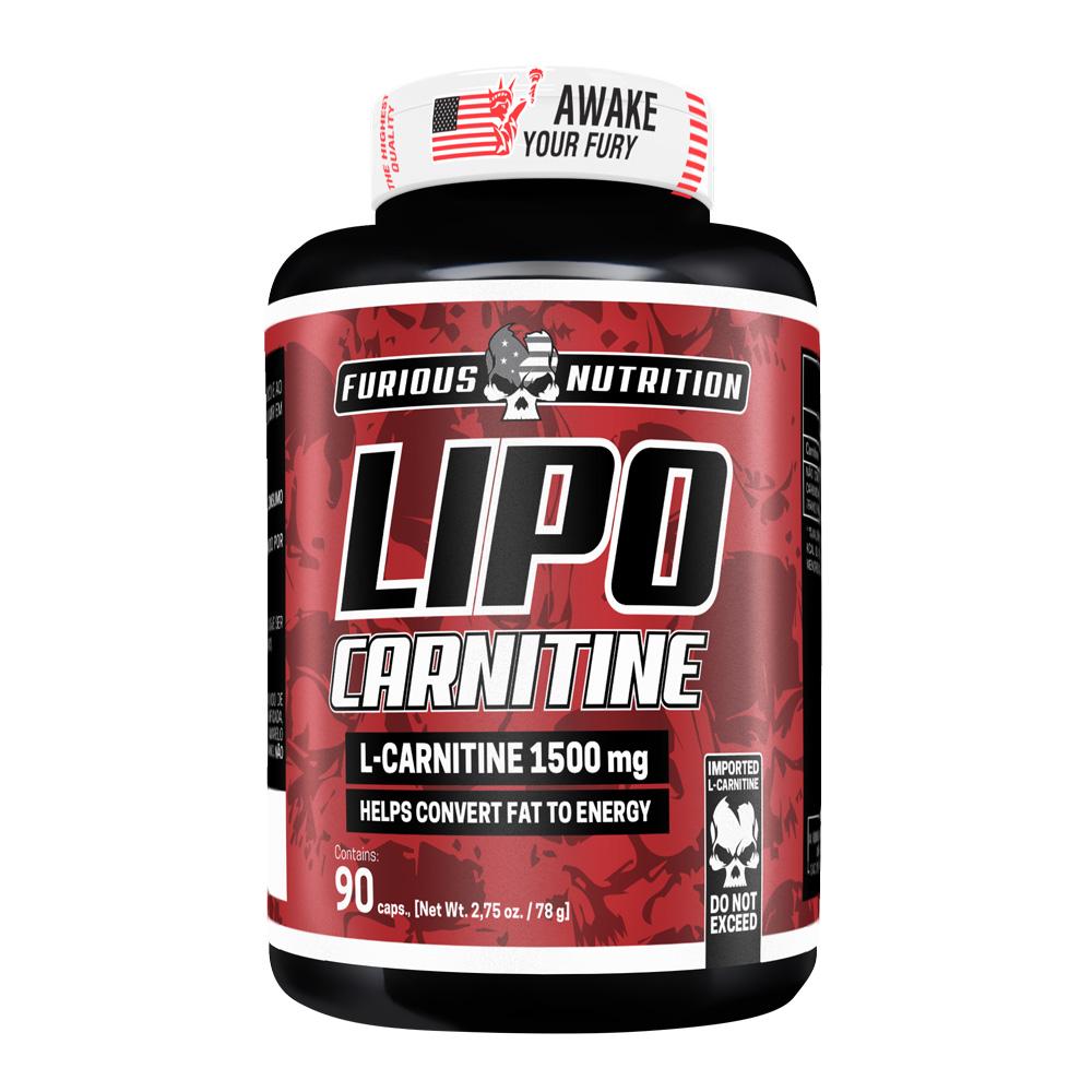 Lipo Carnitine Furious Nutrition pote 90 cápsulas