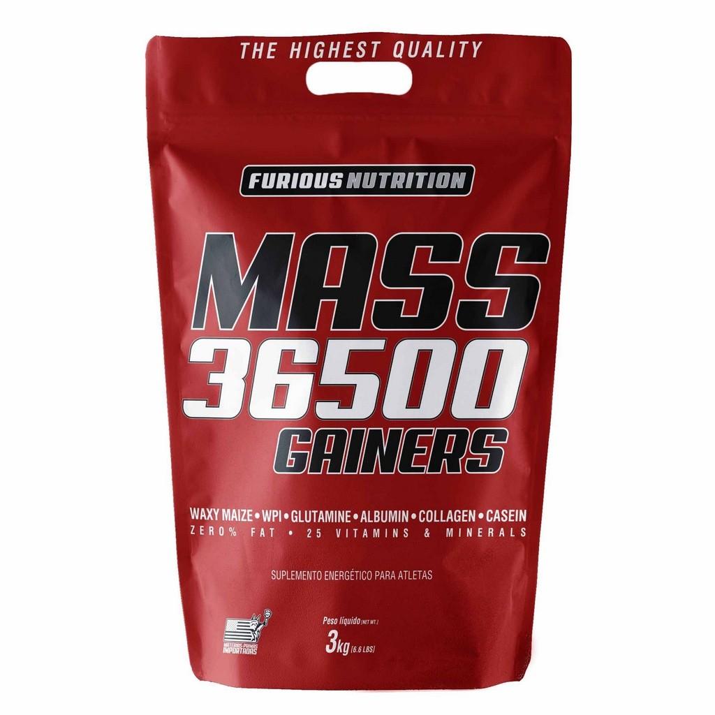 Mass 36500 Gainers Furious Nutrition refil 3 kg