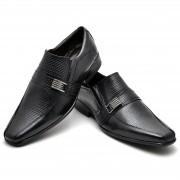 Sapato Masculino Couro DE Carneiro Preto  - 013