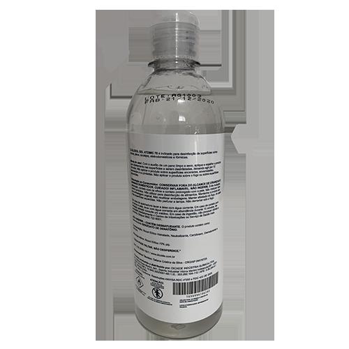 Álcool Gel Atomic 70 - 500ML