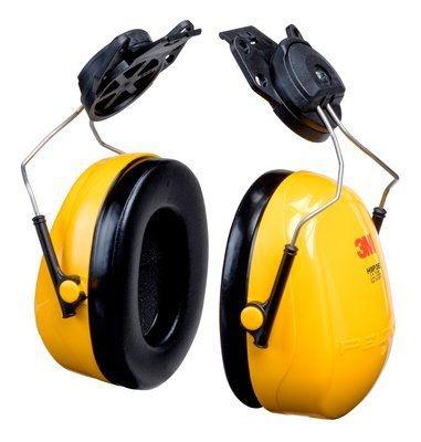 Protetor Auditivo Tipo Concha ABAFADOR 3M H9P3E PARA ACOPLAR CAPACETE 19 DB CA 29702