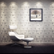 Revestimento 3D - Poliestireno - Ref.: 012 - Levanzo