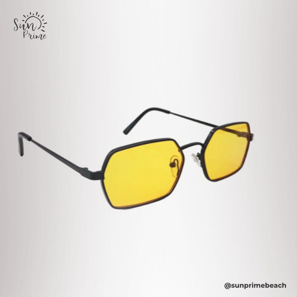 Óculos Sun prime Amarelo