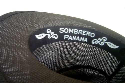 Chapéu Fedora Panamá Unissex Azul Marinho  - ACTIONLTDA