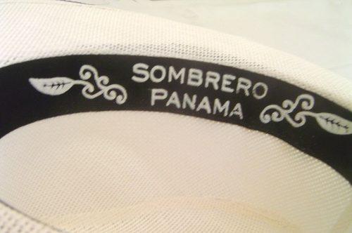 Chapéu Fedora Panamá Unissex Branco  - ACTIONLTDA