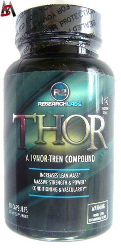 Thor R2 Research 60 Cáps 100% Original Pronta Entrega!