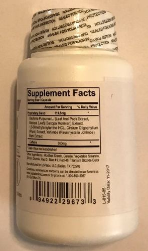 Oxyelite Pro 180 Cápsulas De 500 Mg 2 Potes De 90  - ACTIONLTDA