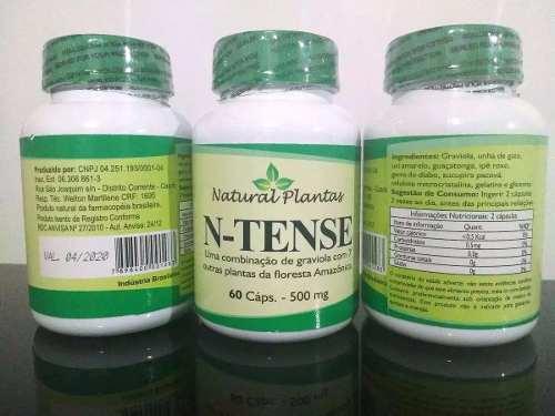 N - Tense Graviola 60 Cápsulas Raintree Fórmula  - ACTIONLTDA