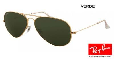 Óculos Ray-Ban Aviator Lente Cristal Proteção UV400 - ACTIONLTDA 6a5ec95c985