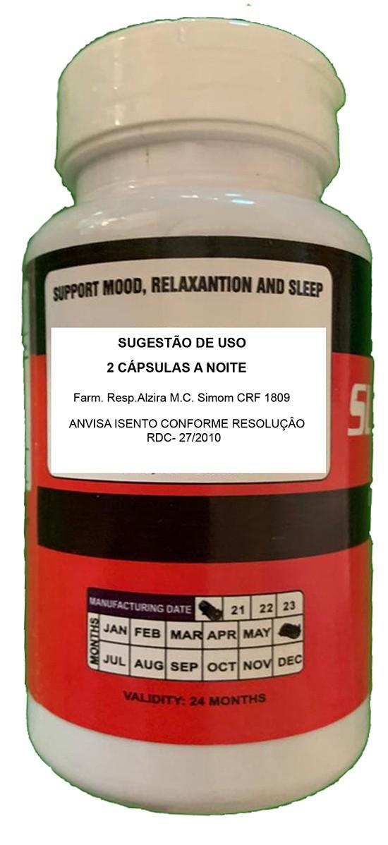 MELATONINA SLEEPWELL 60  CÁPSULAS - MELHORA NA QUALIDADE DO SONO  - ACTIONLTDA