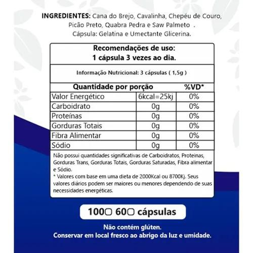Prostatil 500mg 60 cps Denature  - ACTIONLTDA
