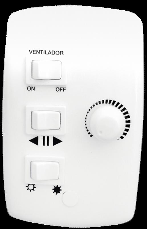 Controle 4x2 Rotativo P/ Ventiladores De Teto - Bivolt