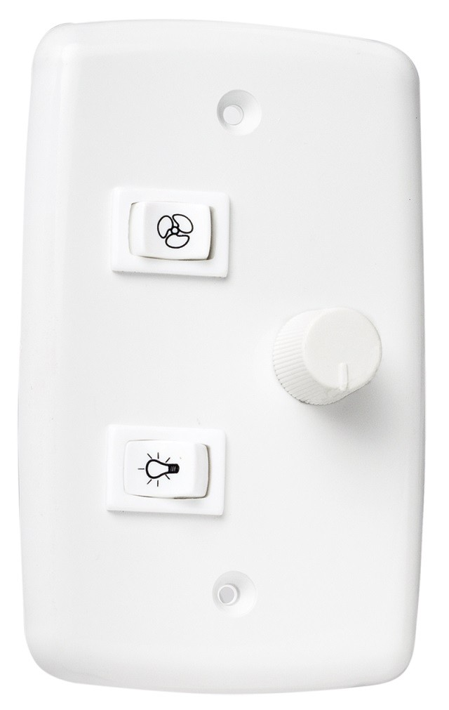 Controle 4x2 2T Rotativo p/ ventiladores de teto - Bivolt