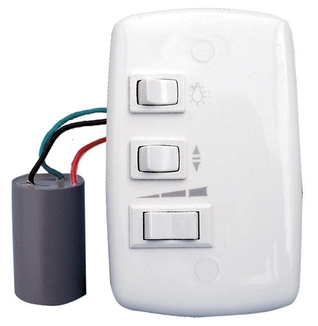 Controle 4x2 Capacitivo p/ ventiladores de teto - 127v