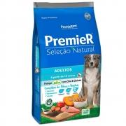 Ração Premier Seleção Natural Frango Korin com Chia e Quinoa para Cães Adultos a partir de 12 meses 12kg
