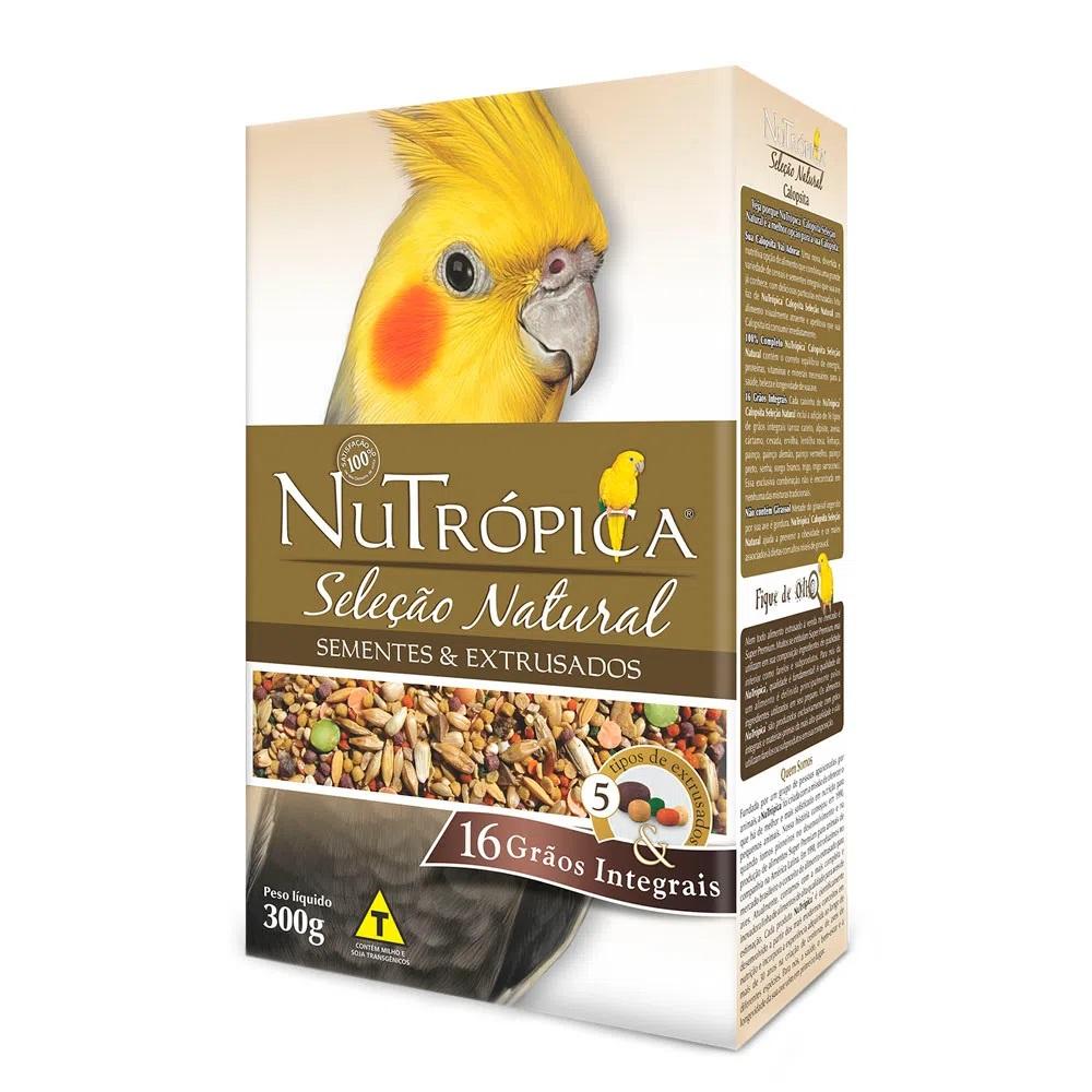 Ração Nutrópica Seleção Natural para Calopsitas
