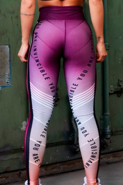 LEGGING SUBLIMADA ROSÊ