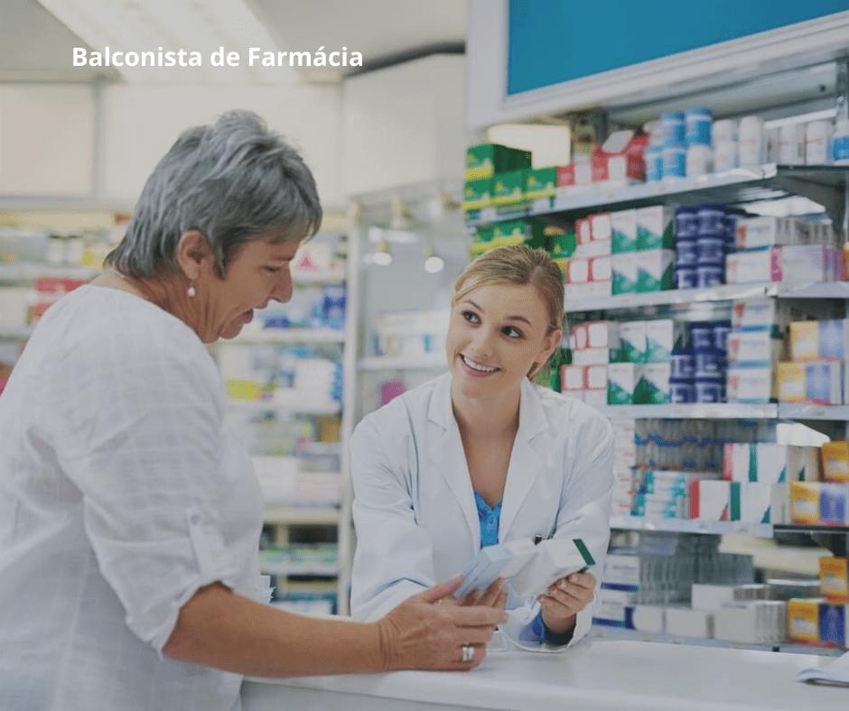Balconista de Farmácia  - Clic Saber EAD