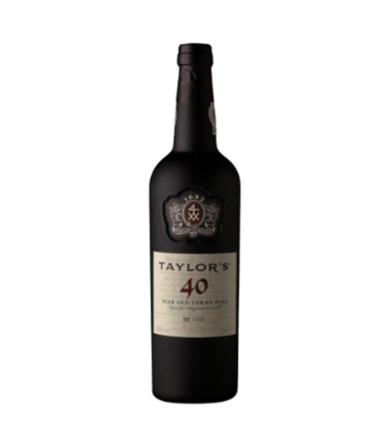 VINHO DO PORTO TAYLORS 40 ANOS TN 750ML GF