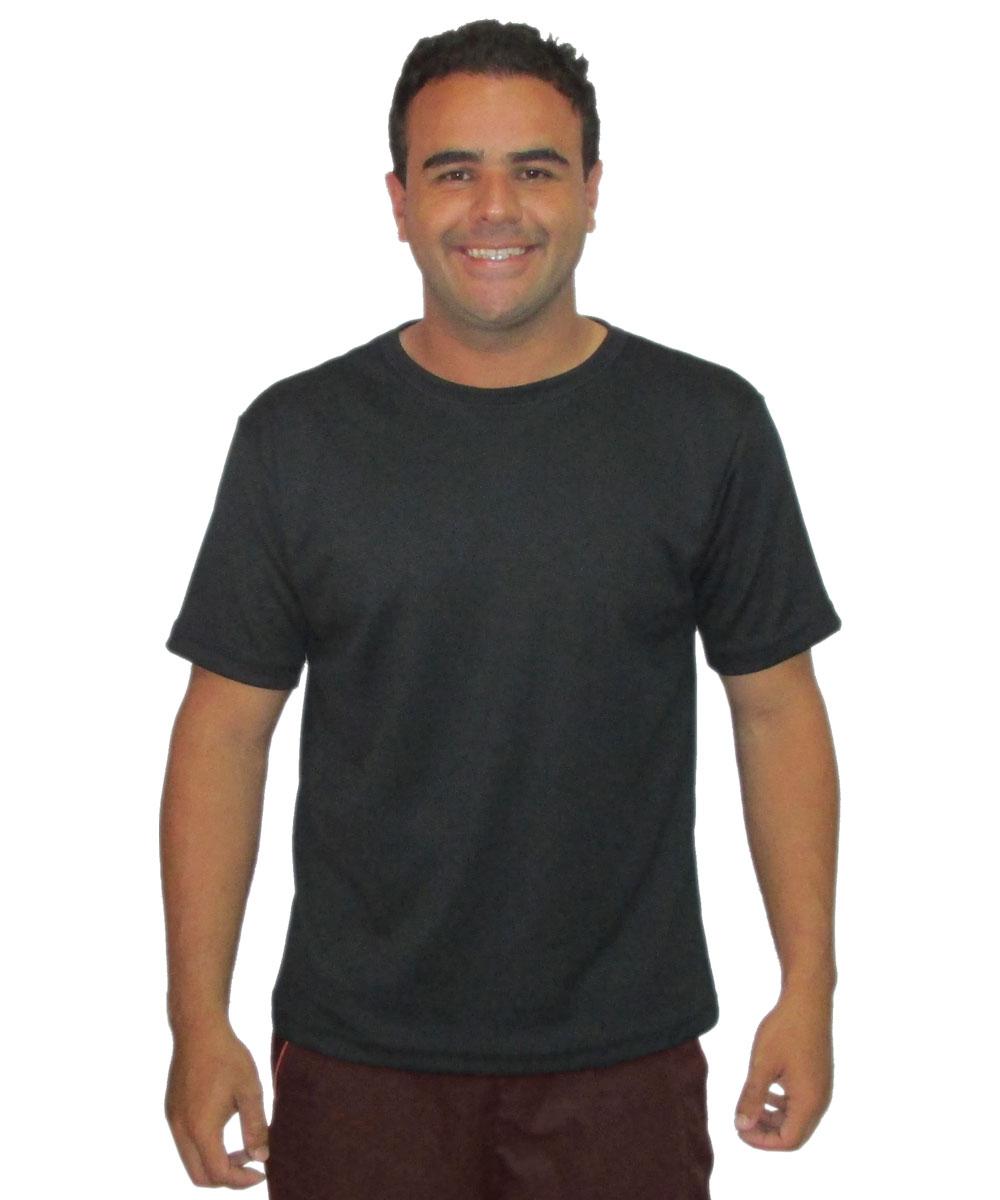 Camiseta Malha Dray Sport - Preta