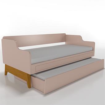 Cama sofá com auxiliar Galaxy