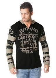 Camisa Masculina com Estampa Hexagonal Indus