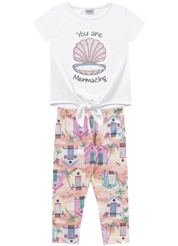 Pijama Feminino colorido