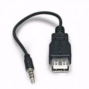CABO USB FEMEA + P2 MACHO 10CM LE-1012