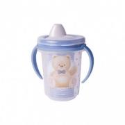 Caneca de Plástico 330 ml com Alça Removível e Fechamento Rosca Urso